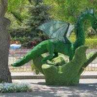 Барышня и дракон..(песня Гарика Сукачева - 20лет назад) :: Alexey YakovLev