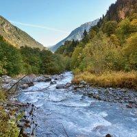 Верховья реки Малая Лаба :: Денис Масленников