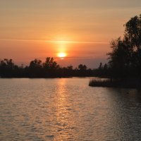 Закат на Дону. :: Виктор