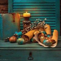 Пасхальный в бирюзовых тонах :: Светлана Л.