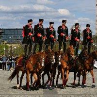 Кавалерийский почётный эскорт Президентского полка :: Татьяна Помогалова