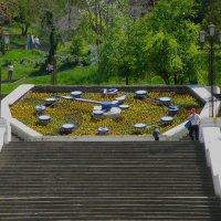 Цветочные часы на Синопской лестнице :: Александр Рыжов