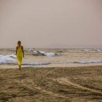 Уходящая к волнам... :: Сергей Дабаев