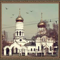 церковь Новокузнецк 2019 :: Николай Староверов