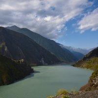 Зарамагское водохранилище. Осетия. The reservoir on the river Ardon. Ossetia :: Юрий Воронов