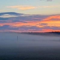 Туманный закат :: Алексей Сметкин