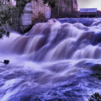 последний кадр вечернего водопада :: Георгий А