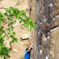 альпинистка :: ольга хакимова