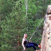 альпинист :: ольга хакимова