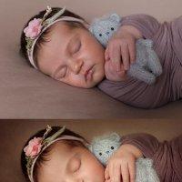 Обработка фото новорожденных :: Татьяна Яковлева