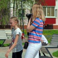 Фотограф в ожидании момента... :: Вик Токарев