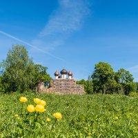 Реставрируемый храм Богоявления на острову :: Alexandr Яковлев