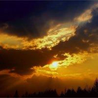 Небесная феерия :: Геннадий Худолеев