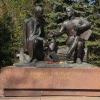 Смоленск,памятник В. Тёркину. :: Павел