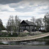 Карелия, Олонец. Под хмурым небом Севера. :: Антонина Мустонен