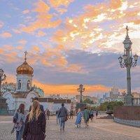 Москва. Заканчивается день. :: Александра
