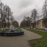 Улица с фонтанами :: Сергей Цветков