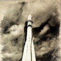 """Ракетоноситель """"Восток"""" на старте... :: Андрей Головкин"""