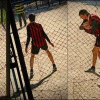 Футбол во дворе :: Сергей Порфирьев