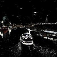 Ночное рандеву :: Сергей Беличев