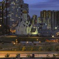 1.Храм в ночи :: Юрий Велицкий