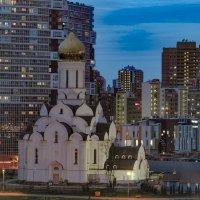 3.Храм в ночи. :: Юрий Велицкий