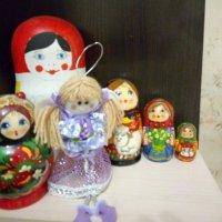 """Интерьер """"Матрешки и кукла"""". :: Светлана Калмыкова"""