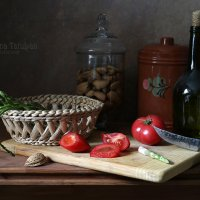 Со спаржей и помидорами :: Елена Татульян