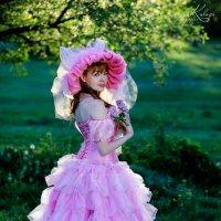 прогулка по саду :: Ирина Кулага