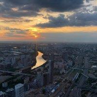 закат над Москвой :: tatiana