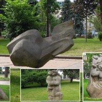 Арт-скульптуры на Владимирской горке, посвящённые Матери... :: Тамара Бедай