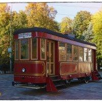 На таких трамваях ездили наши прадеды. :: Anatol L