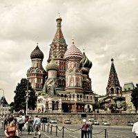 Собор Покрова Пресвятой Богородицы, что на Рву :: Андрей Головкин