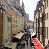 Дрезден, Münzgasse :: Сергей Беляев