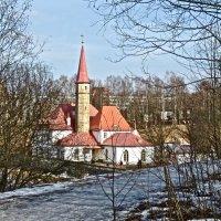 Приоратский дворец в Гатчине весной :: Елена