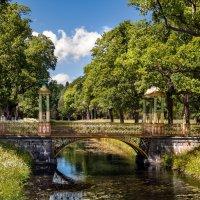 Китайский мост в Александровском парке :: Елена Кириллова