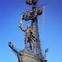 Петр I на Стрелке :: Сергей Беличев