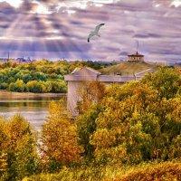 А из нашего окна... :: Ирина Глебова