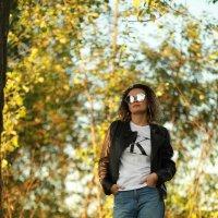 Красивая и стильная девушка на закате :: Дмитрий Соколов
