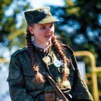 Ангелина- Юный друг пограничника :: Ирина Глебова