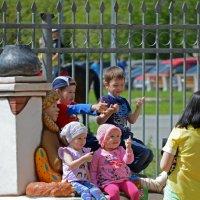 Ох уж эти дети :: Андрей + Ирина Степановы