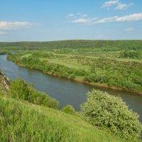 Греховская гора.Река Сылва :: Алексей Сметкин