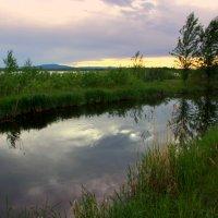 Сквозь тишину смотрю на горы... :: Нэля Лысенко