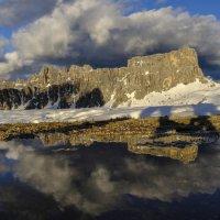 отражение гор на..... :: Георгий А