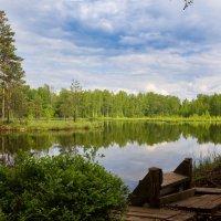 Озеро в Луговой :: Александр Протопопов