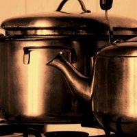 на кухне :: Елена Минина