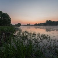 Раннее утро на реке Дубне. :: Виктор Евстратов