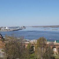 Вид на Стрелку в Нижнем Новгороде :: Lersa