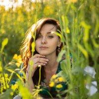 девушка, поле, лето :: Ася Гречуха