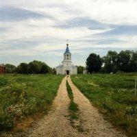Дорога к храму :: Ирина Коноплёва